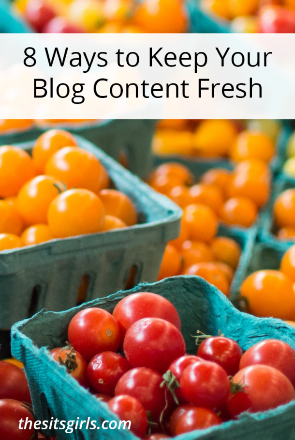 Blog Tips   Are you struggling to come up with things to write about on your blog? Use these 8 tips and writing prompt resources to keep your blog content fresh.
