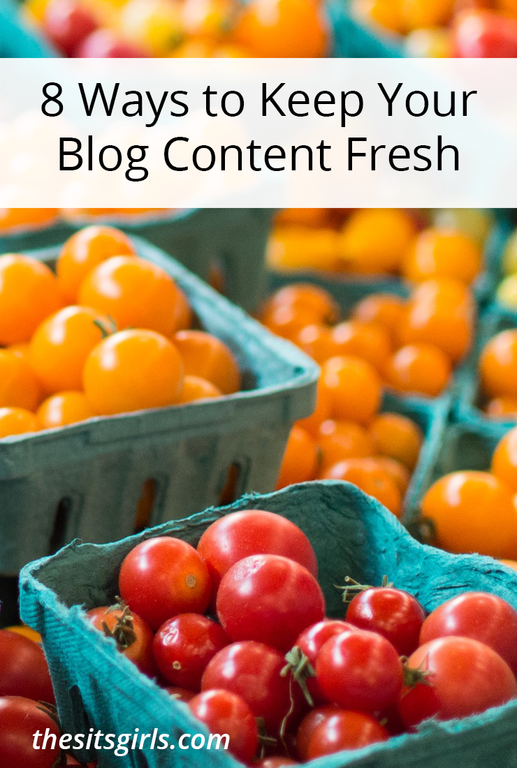 Blog Tip | Are you struggling to come up with things to write about on your blog? Use these 8 tips and writing prompt resources to keep your blog content fresh.