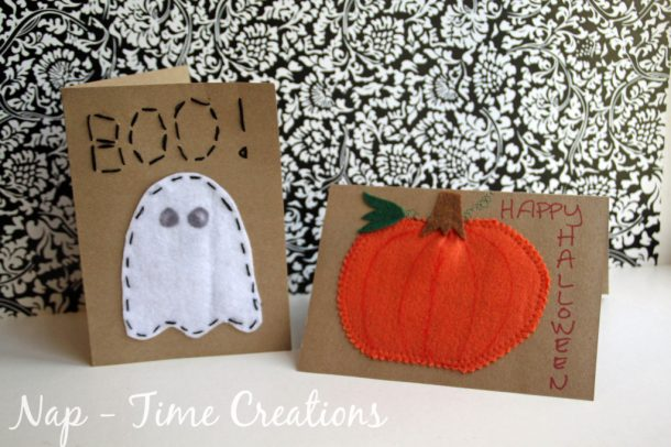 Such a cute shabby chic Halloween idea!