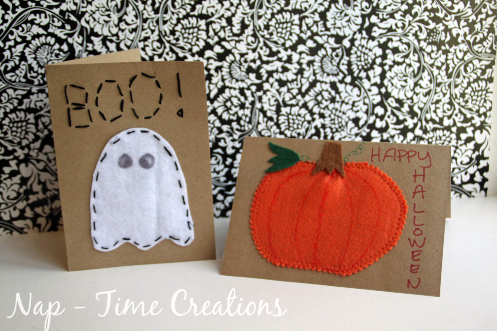 Such A Cute Shabby Chic Halloween Idea Cute Handstamped Halloween