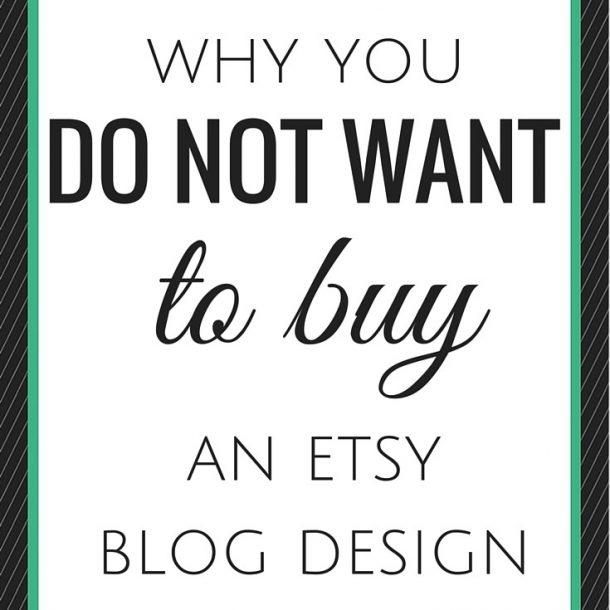 etsy blog design