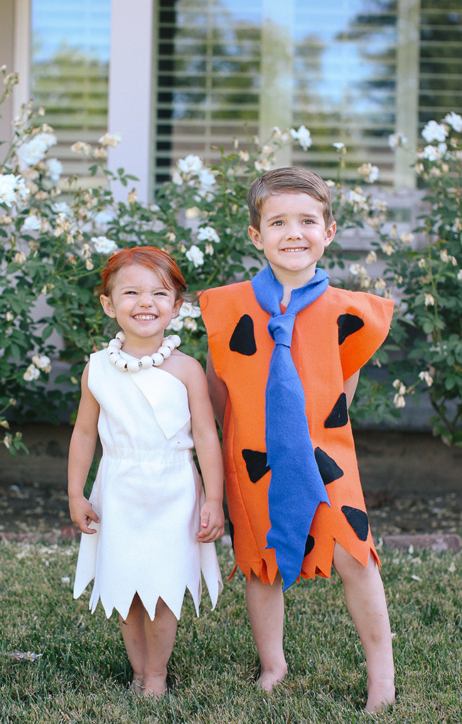 super easy and cute this is the best diy flintstone costume for your