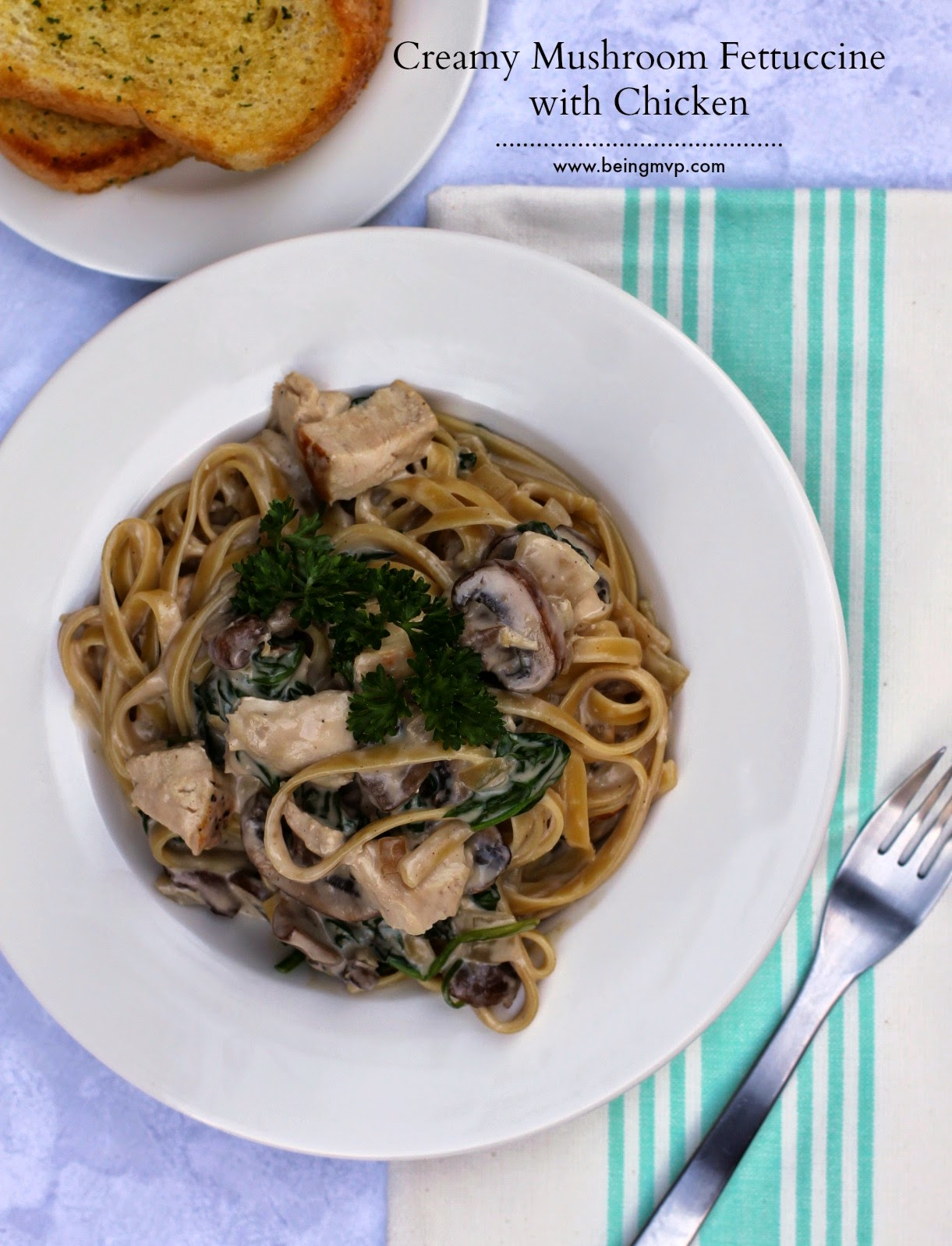 Mushrooms and chicken are a delicious classic combo for this dinner recipe!