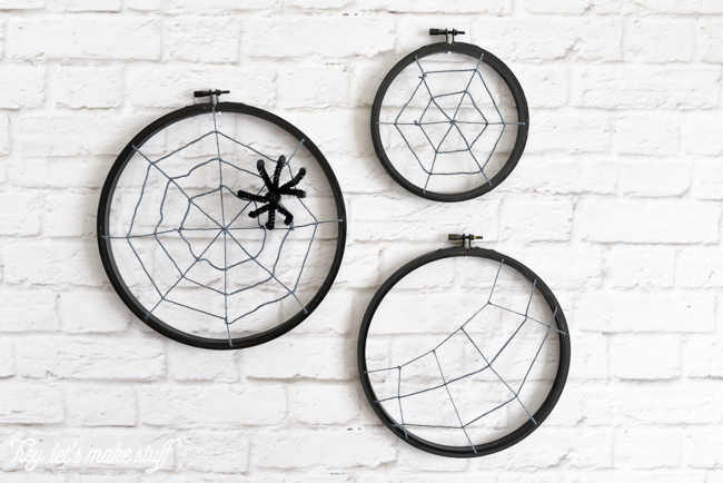 How cute is this spiderweb crafts!