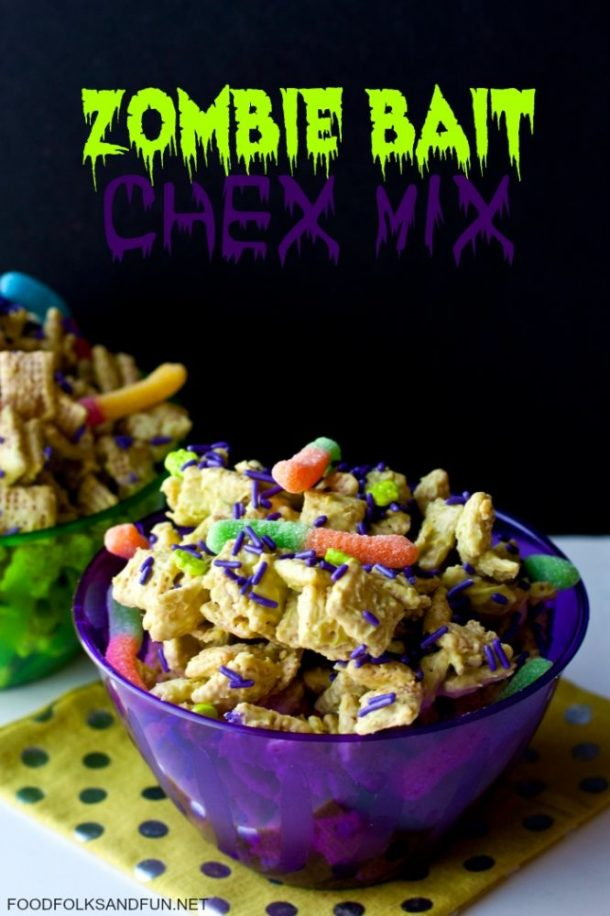 Catch some zombies with this quick snack!