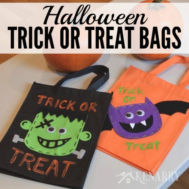 These are so cute to make for your Trick or Treaters!