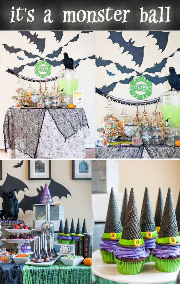 We are totally obsessed with this Monster Ball and all the crafty ideas!