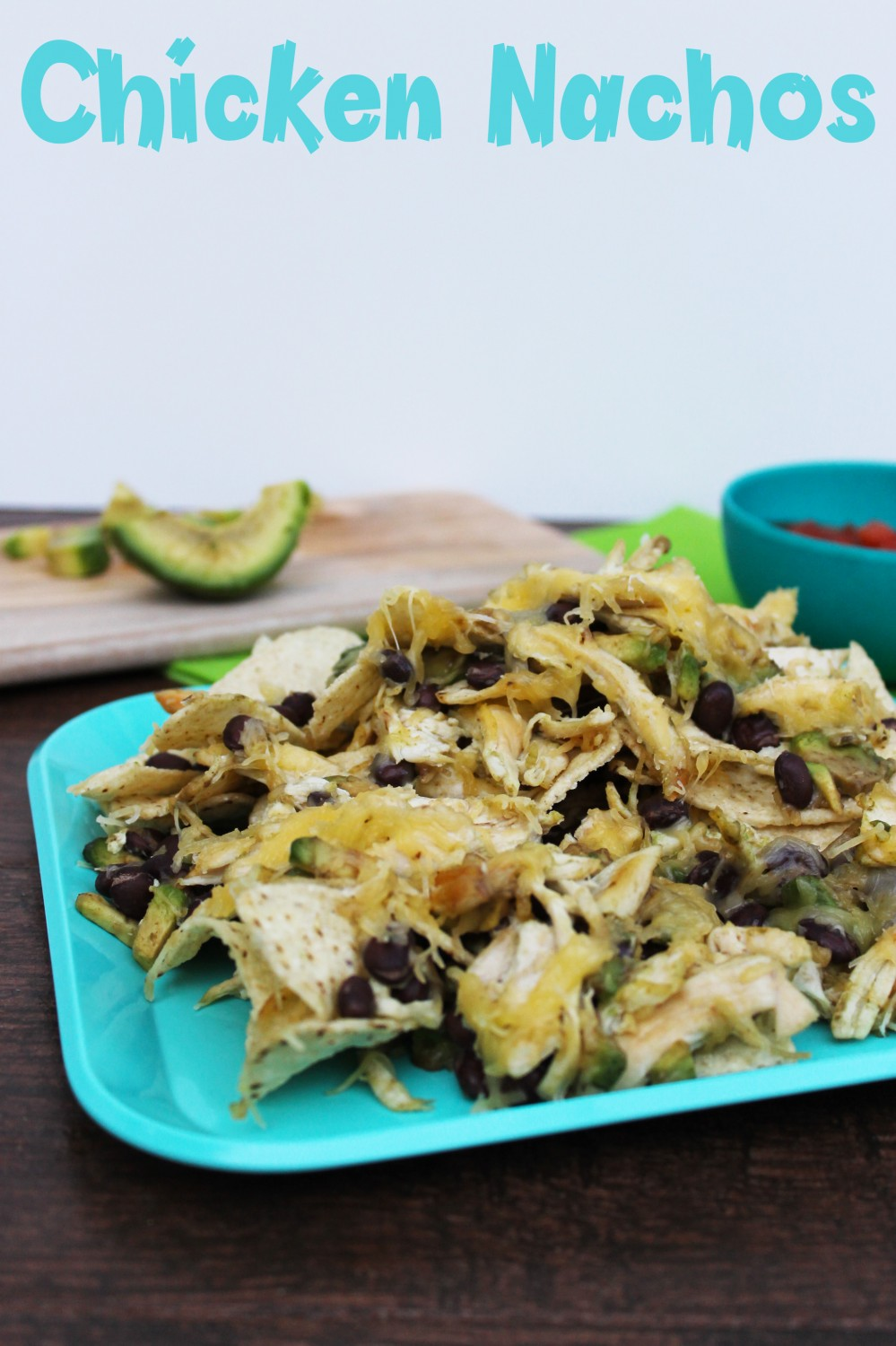 A fun way to serve dinner to toddlers is by making Nachos!