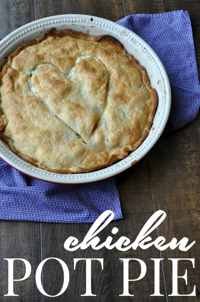 Chicken Pot pie using Foster Farms chicken is the best family dinner to serve!