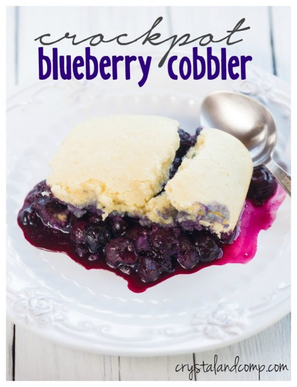 Dessert in a slow cooker! Yes please!
