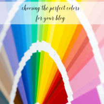 Choosing Effective Colors For Your Blog