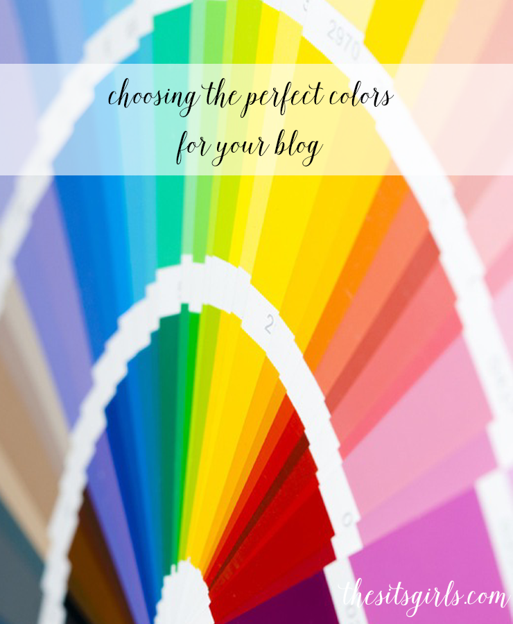 Blogging Tips | Choosing the colors you use in your logo and blog is a huge decision. Click through for tips to help you choose effective colors for your blog.