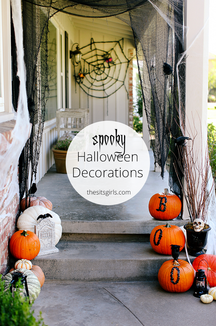 Outdoor halloween decoration ideas for Pinterest halloween outdoor decorations