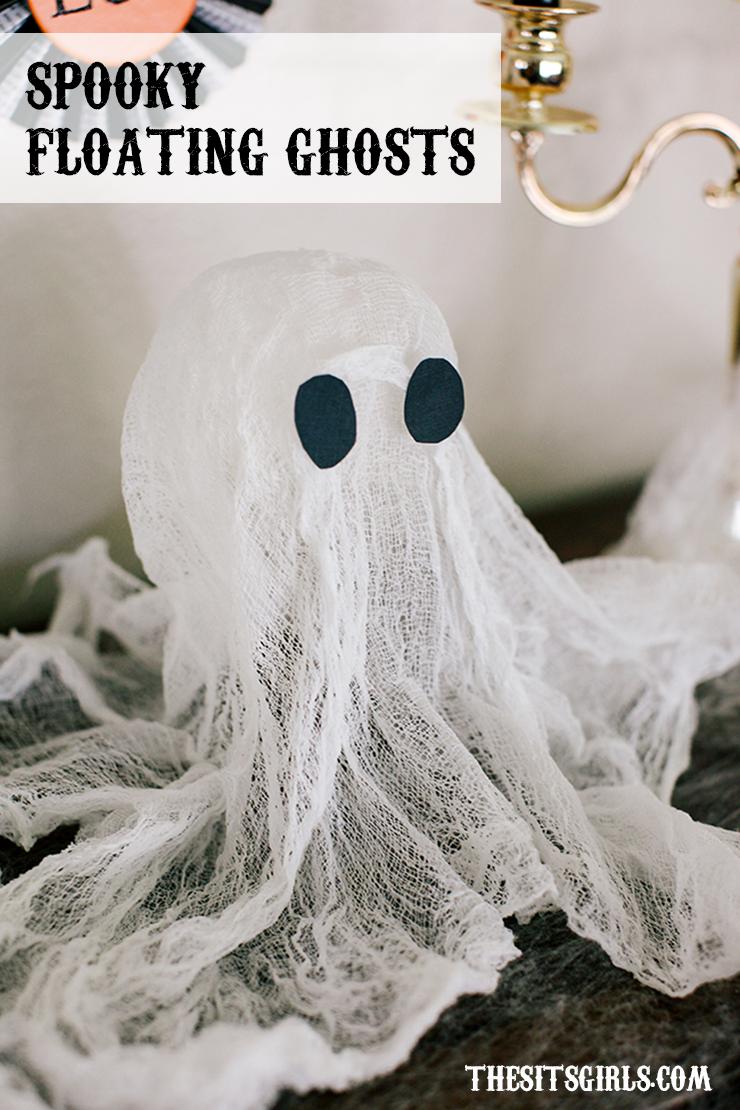 Easy DIY Halloween Decoration | Spooky Floating Halloween Ghost