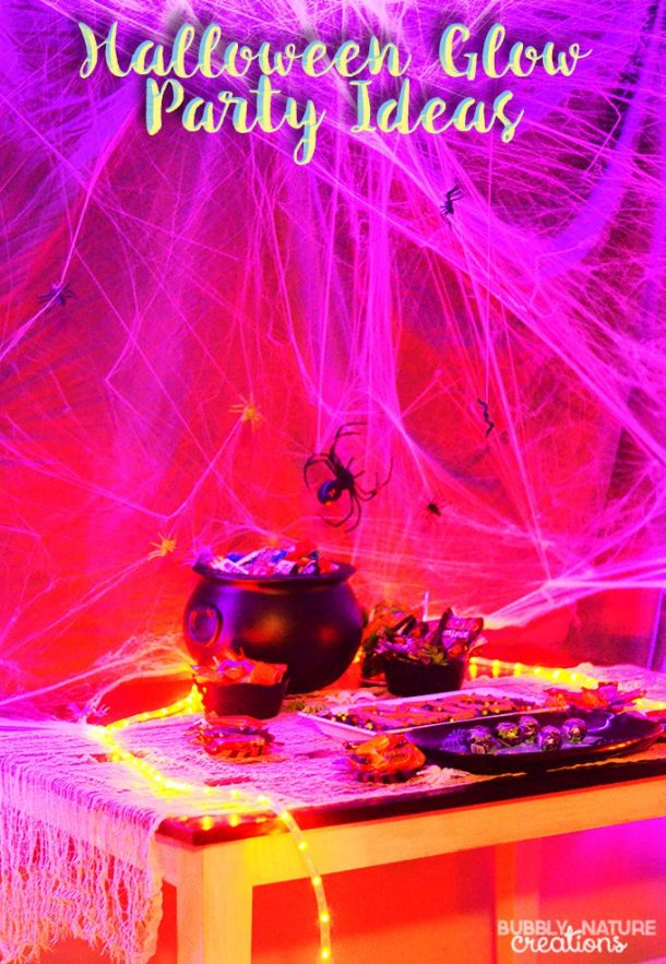This glow party is the best way to light up any Halloween night!