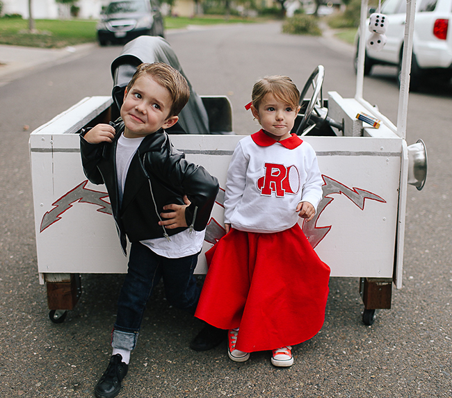 Attitude is the perfect for a Grease Lightening costume!