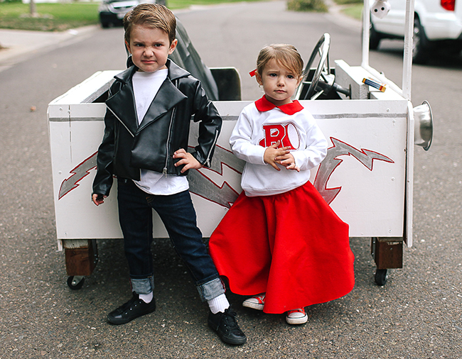 Attitude is everything when it comes to being a Greaser!  sc 1 st  The SITS Girls & Grease Lightning Costume | Danny and Sandy Costume