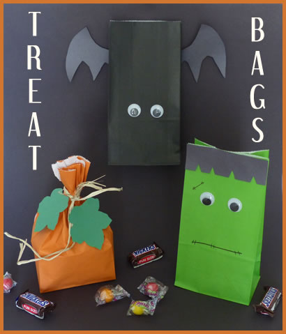 Hand out these treat bags to all your guests after you party the night away on Oct 31st!