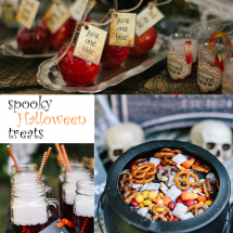 A Trio Of Spooky Halloween Treats For Your Next Party