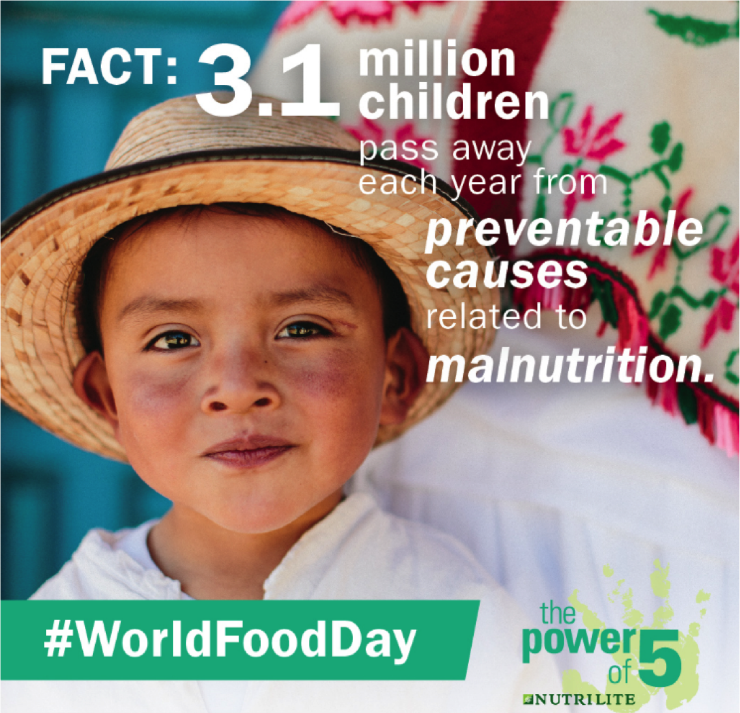 Join us on World Food Day for an important conversation about global malnutrition.