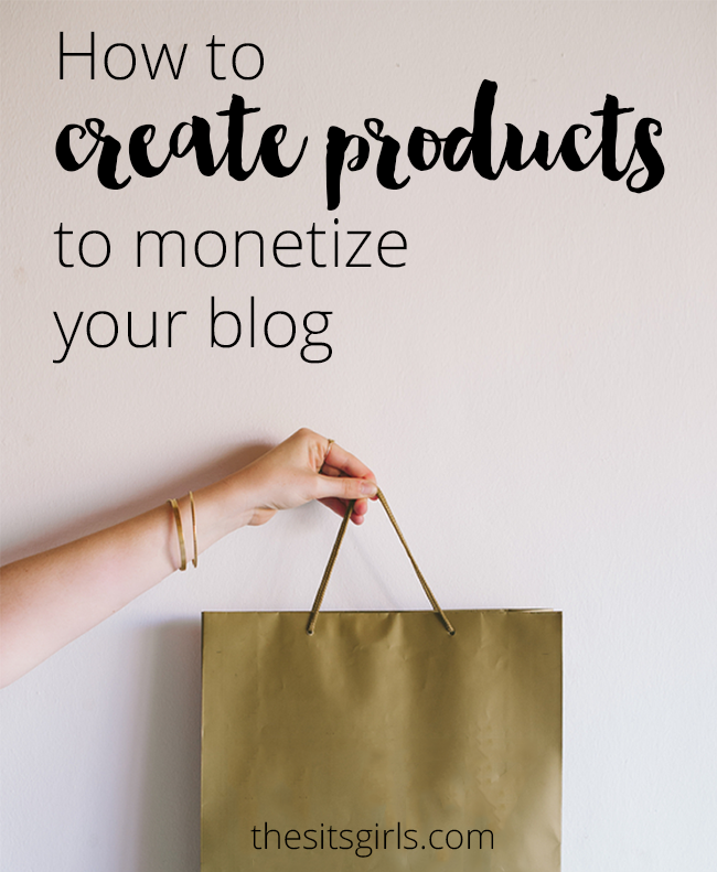 Blog Tips | Creating and selling your own products is a great way to make money on your blog. This post walks you through the entire process from start to finish and offers great ideas for what to sell.