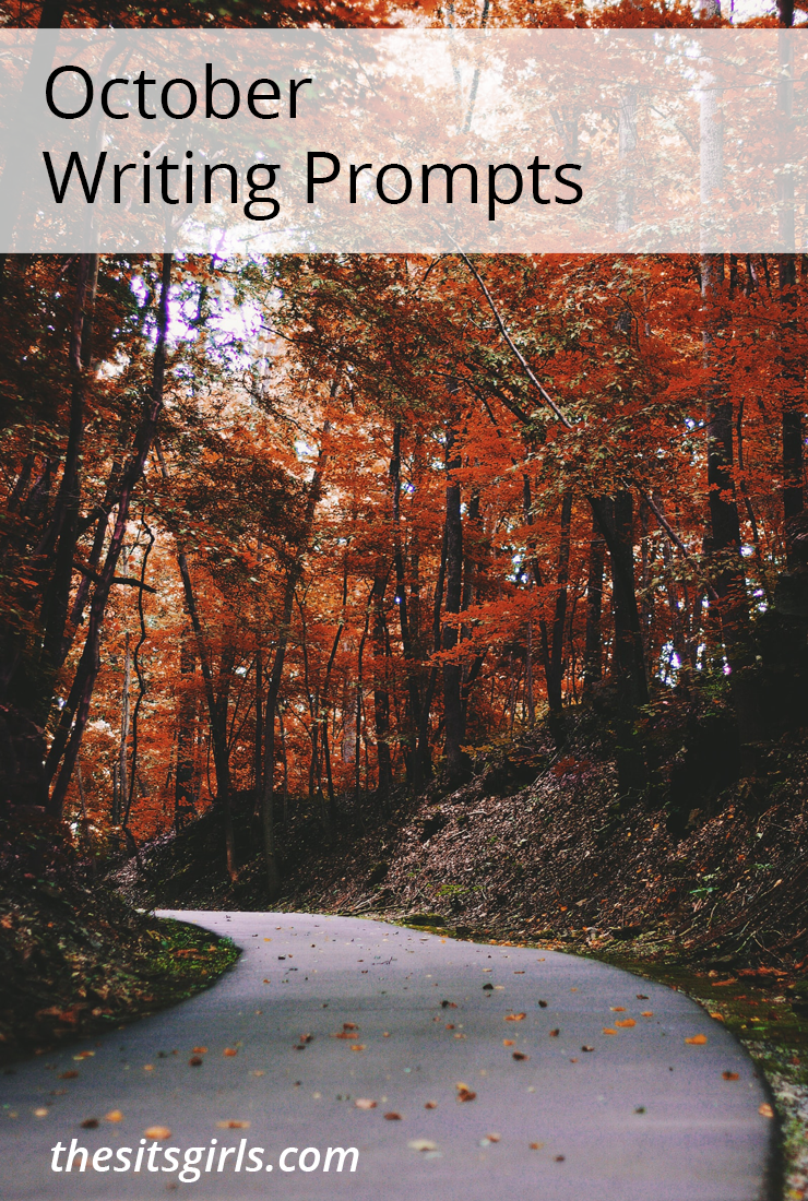 Do you need a little writing inspiration? We have writing prompts for each day of October to help you write and blog all month long.
