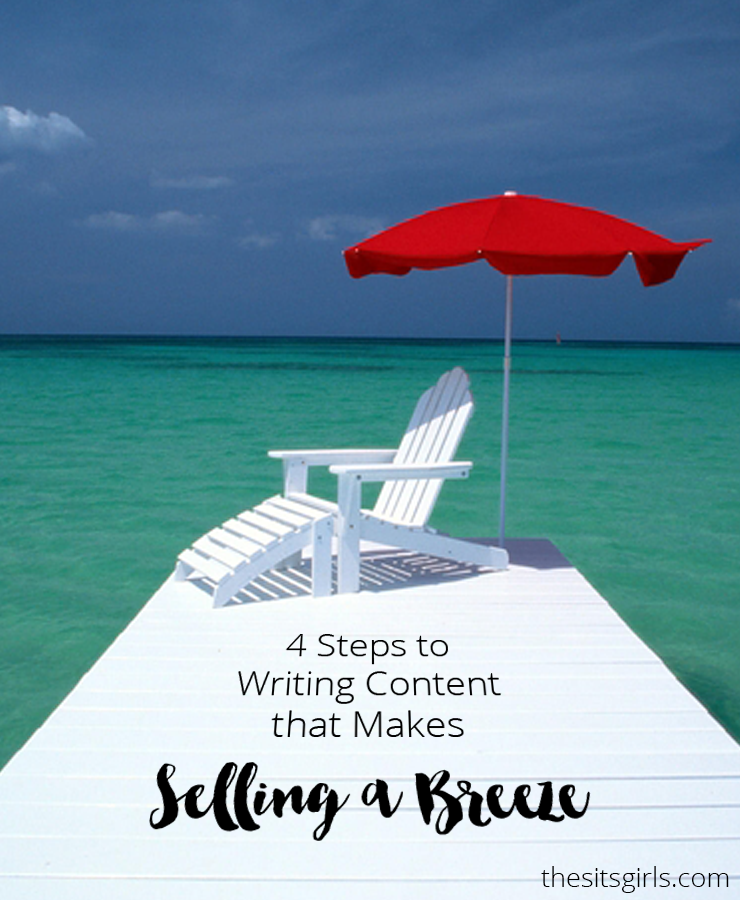 4 writing steps that will help you create content that converts! Learn how to sell your passions and ideas without sounding like everyone else.