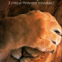 Are You Making These 3 Critical Pinterest Mistakes?