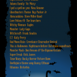 Trick Or Treat Halloween Playlist