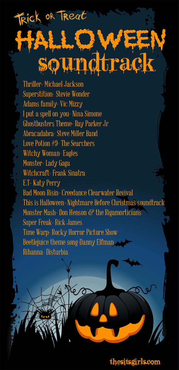 Trick Or Treat Halloween Playlist