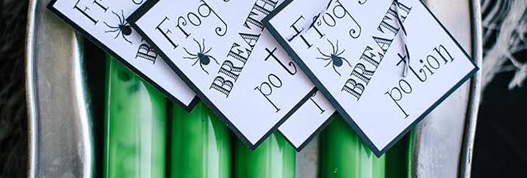 DIY Green Halloween Slime Recipe