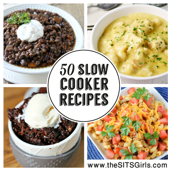 50 Amazing Slow Cooker Recipes | Make your dinner easy with this collection of recipes to make in your crock pot.