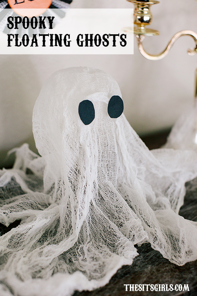 Easy DIY Halloween Decoration | Spooky Floating Halloween Ghost