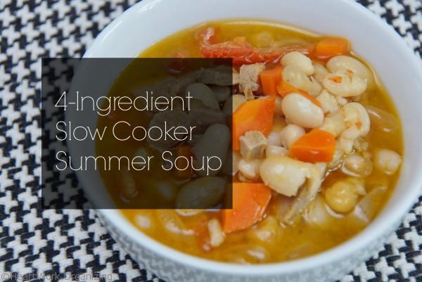 This quick and easy summer soup is the perfect go to dinner!