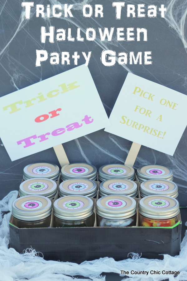 Use this cute party game to entertain your Halloween guests!
