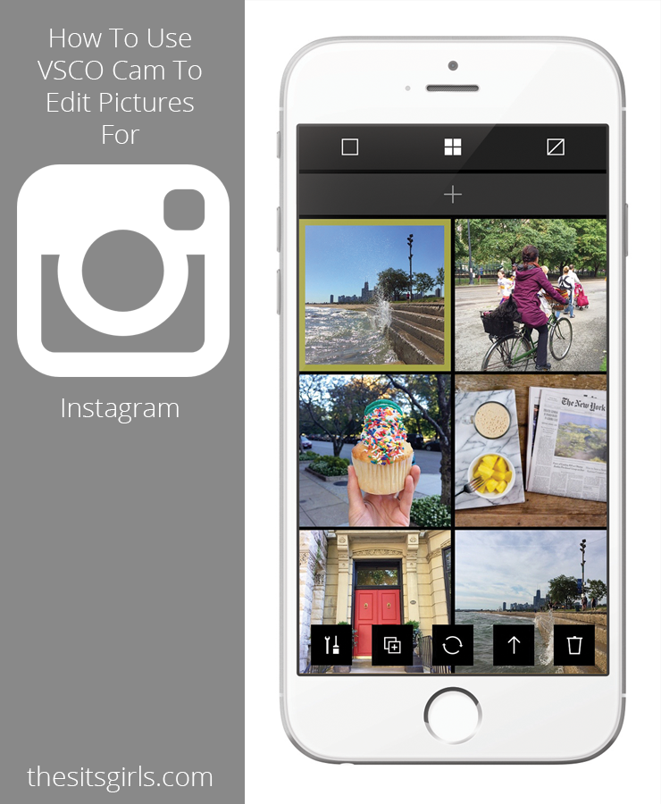 how to use vsco cam to edit photos for instagram