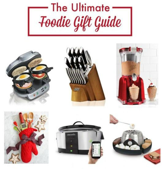 Great gift ideas for food lovers.