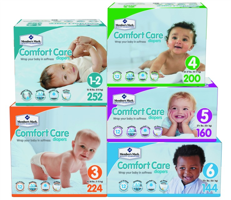 Comfort Care Diapers