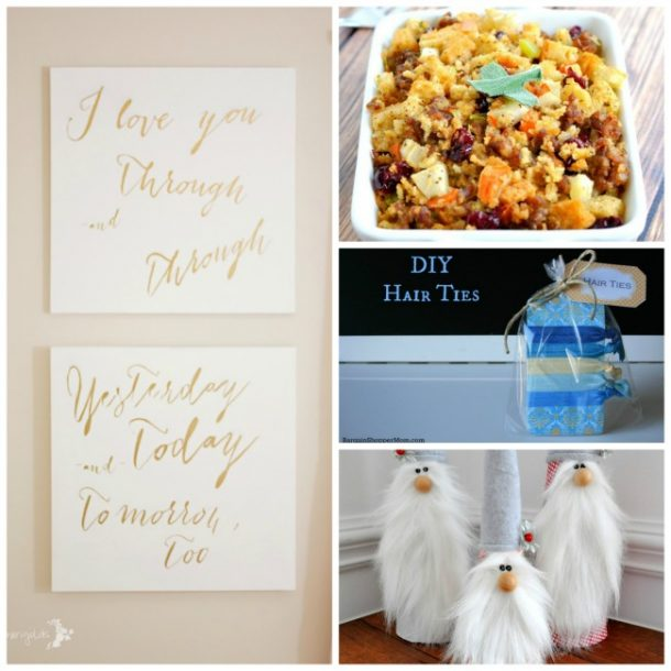Link up on our Tuesday Recipe & DIY linky!