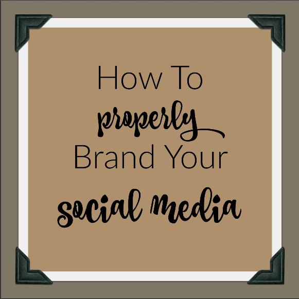 brand your social media