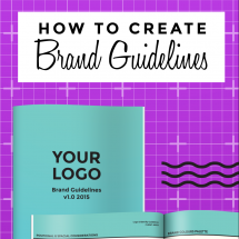 How to Create Brand Guidelines
