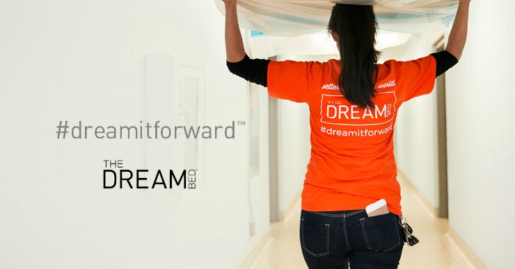 The Dream Bed bed in a box offers a great night's sleep and an opportunity to give back to a family in need.