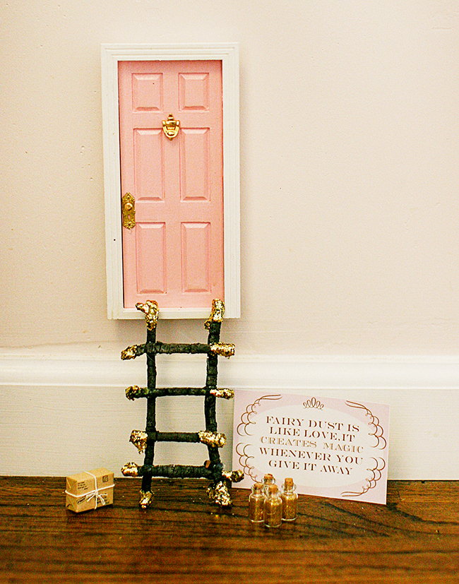 Create a Sugar Plum Fairy door for your kids. The fairy can leave small gifts and notes - these printables are adorable!