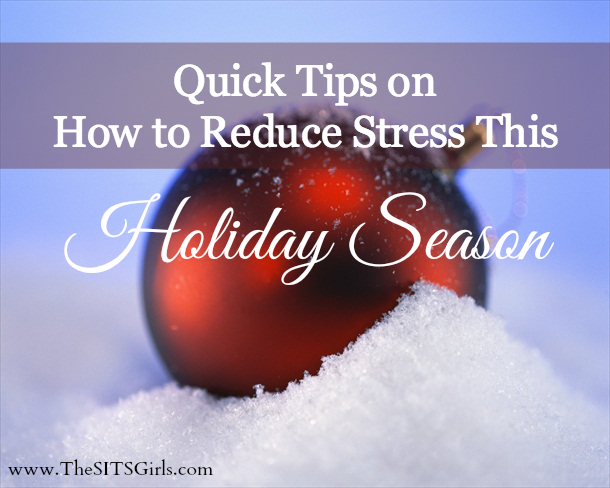 Tips to help you reduct holiday stress.