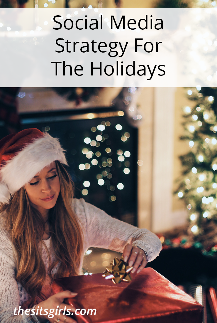 Social Media Tips | With a little planning, you can develop a social media strategy for the holiday that will help you keep up with everything you need to do, and still take time to celebrate with your family.