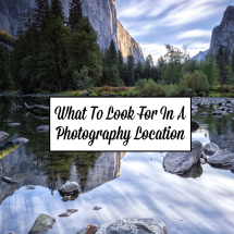 What To Look For In A Photography Location
