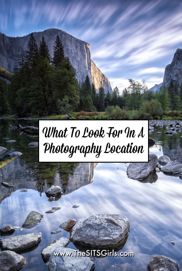 How to pick the perfect location for your next photo shoot. | Photography Tips
