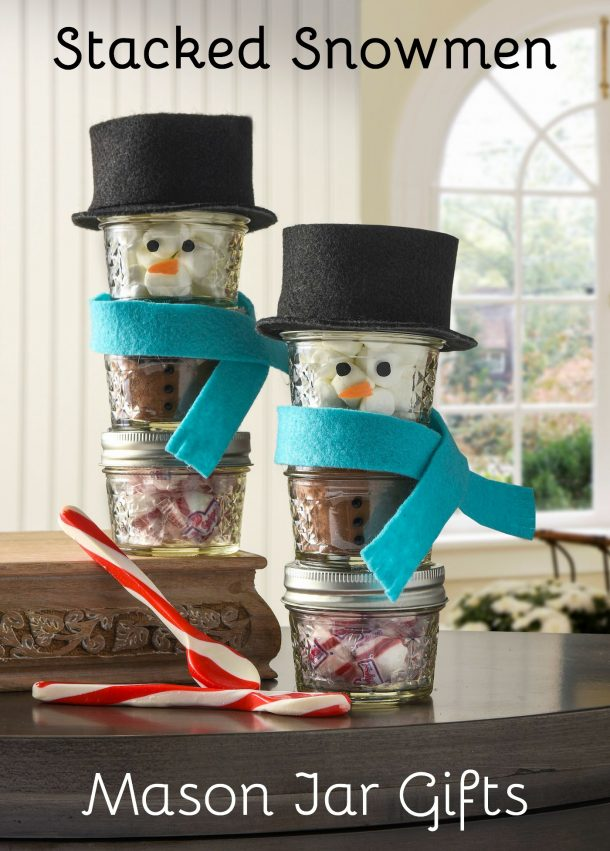Stacked-snowmen-mason-jar-gifts