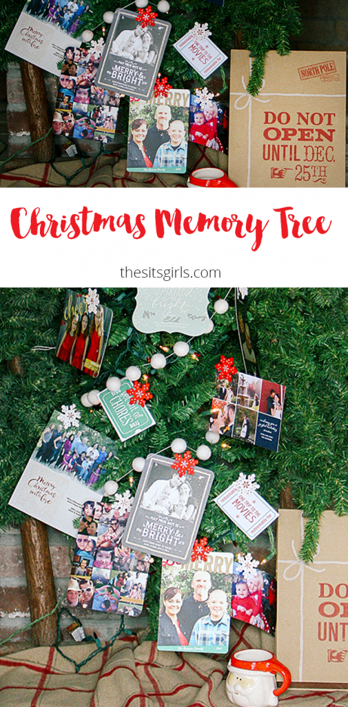 A cute and easy way to decorate your Christmas tree and display your Christmas cards! | Christmas Decorations