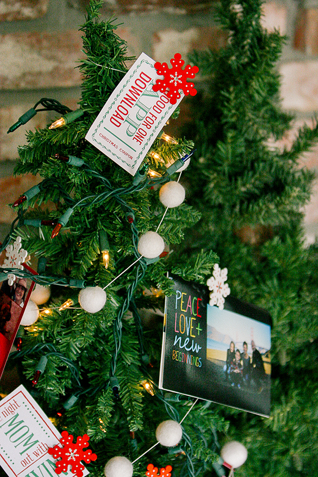 A Christmas Memory Tree is the perfect way to show off your holiday cards.